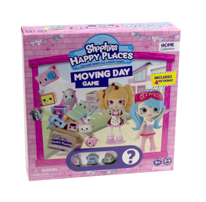 Shopkins Happy Places Moving Day With Pressman Toy