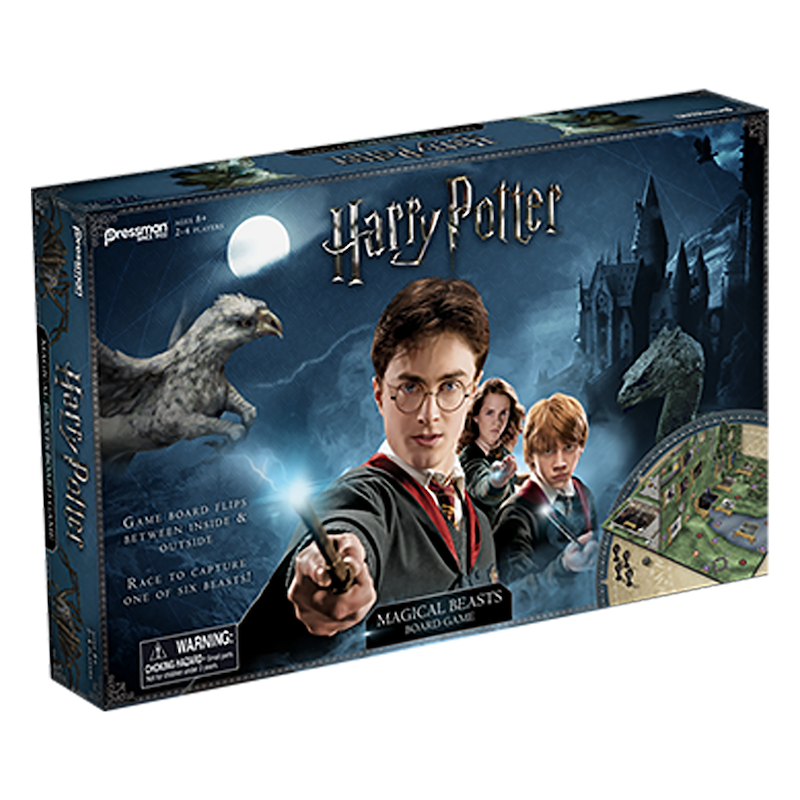 Harry Potter Magical Beasts Game — Pressman Toy :Pressman Toy