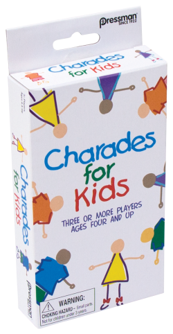 Charades for Kids - Travel — Pressman Toy :Pressman Toy
